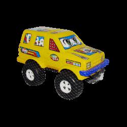 Carro de Plástico estilo Jeep Grande Amarillo