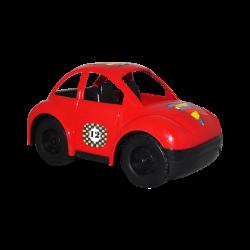 Carro de Plástico Estilo Escarabajo Pequeño Rojo