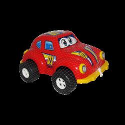 Carro de Plástico Estilo Escarabajo Grande Rojo