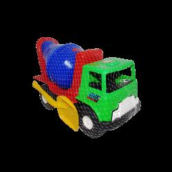 Camión Mezclador de Plástico Grande Verde