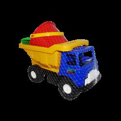Camión de Volteo de Plástico Grande Azul