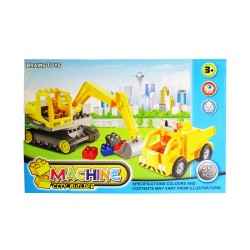 Juego Armable Machine City Builder 35 pcs