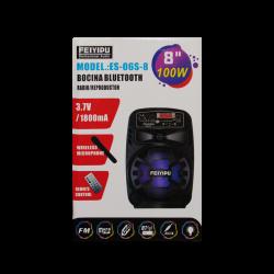 Bocina Bluetooth con radio mediana