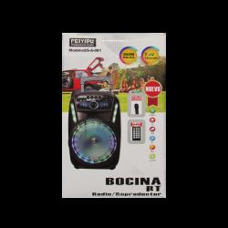 Bocina Bluetooth con radio grande