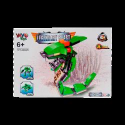 Juego Armable Legendary Beast - Serpiente Nocturna 82 Piezas