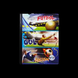 Cuaderno cuadriculado para niño - Fútbol