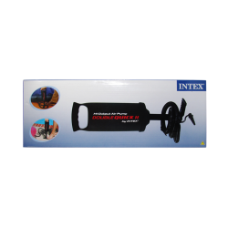 INTEX - Bomba de Aire de Alta Presión Doble Velocidad Pequeña