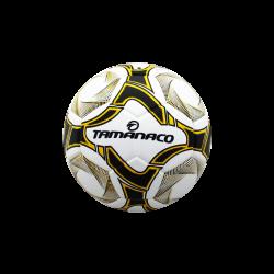 Balón de Fútbol Sala Blanco con  Amarillo de Tamanaco