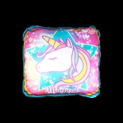 Cojín con Diseño estilo Unicornio