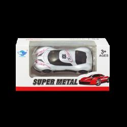 Carro Super Metal Plateado