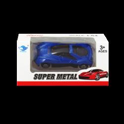 Carro Super Metal Azul