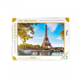 Ronda Rompecabezas Ciudades del Mundo París 1000 Piezas