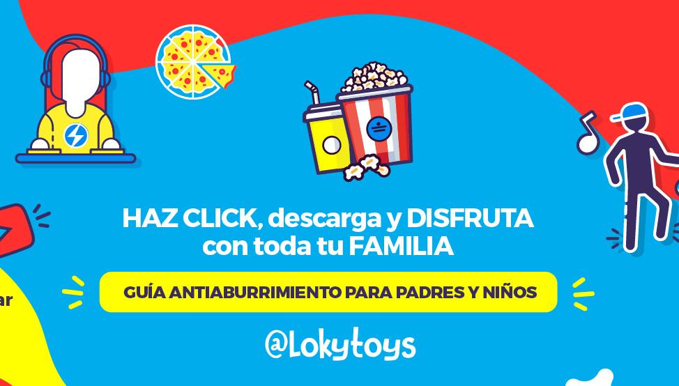 Guía antiaburrimiento Lokytoys